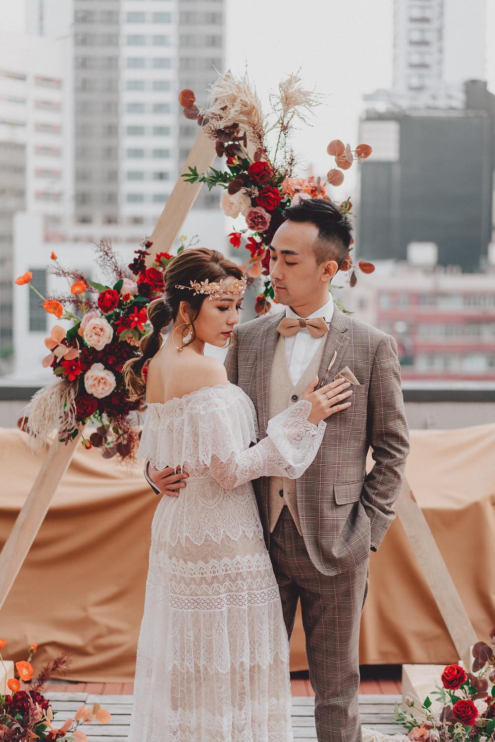 Morokok 波希米亞風婚禮
