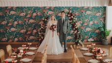 不一樣的婚禮靈感:在鬧市中的波希米亞風婚禮