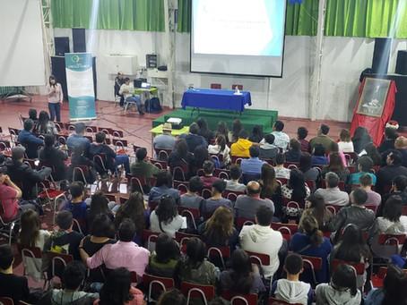 Charla en Colegio Alberto Pérez (Institución Teresiana)