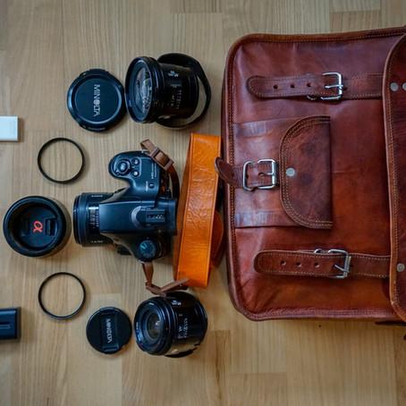 Hvad har du i tasken streetfotograf?