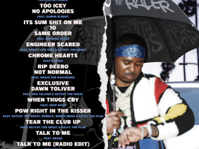 """Recorded at 1708, Drakeo The Ruler releases new album """"The Truth Hurts"""" featuring Drake and more."""