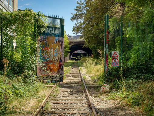 Den glemte jernbane i Paris