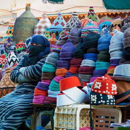 Street photo i Marrakesh