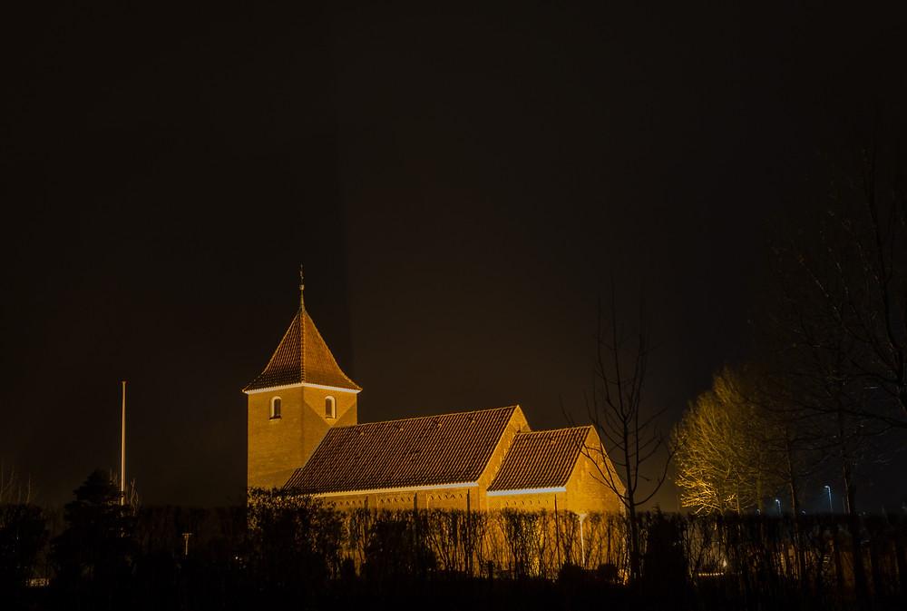 20. december - Sørup Kirke (f7,1 6 sek. ISO-200)