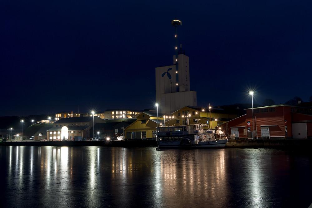 18. december - Hobro Havn (f8 25 sek. ISO-100)
