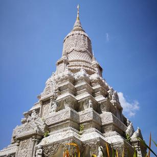 im Royal Palace in Phnom Penh