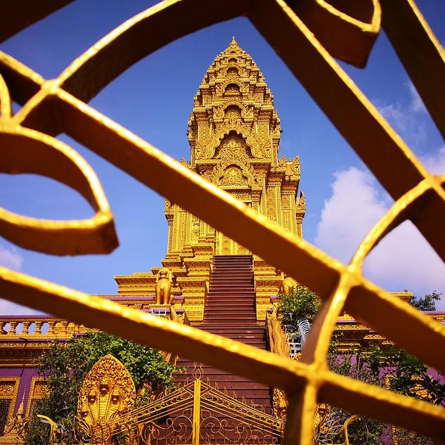 Ounnalom Pagoda in Phnom Penh