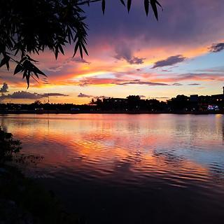 Sonnenuntergang in Hue