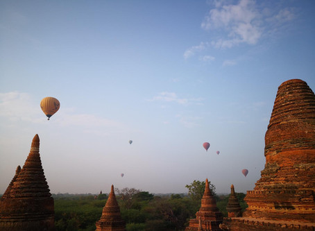 #2 Wir tuckern nach Bagan