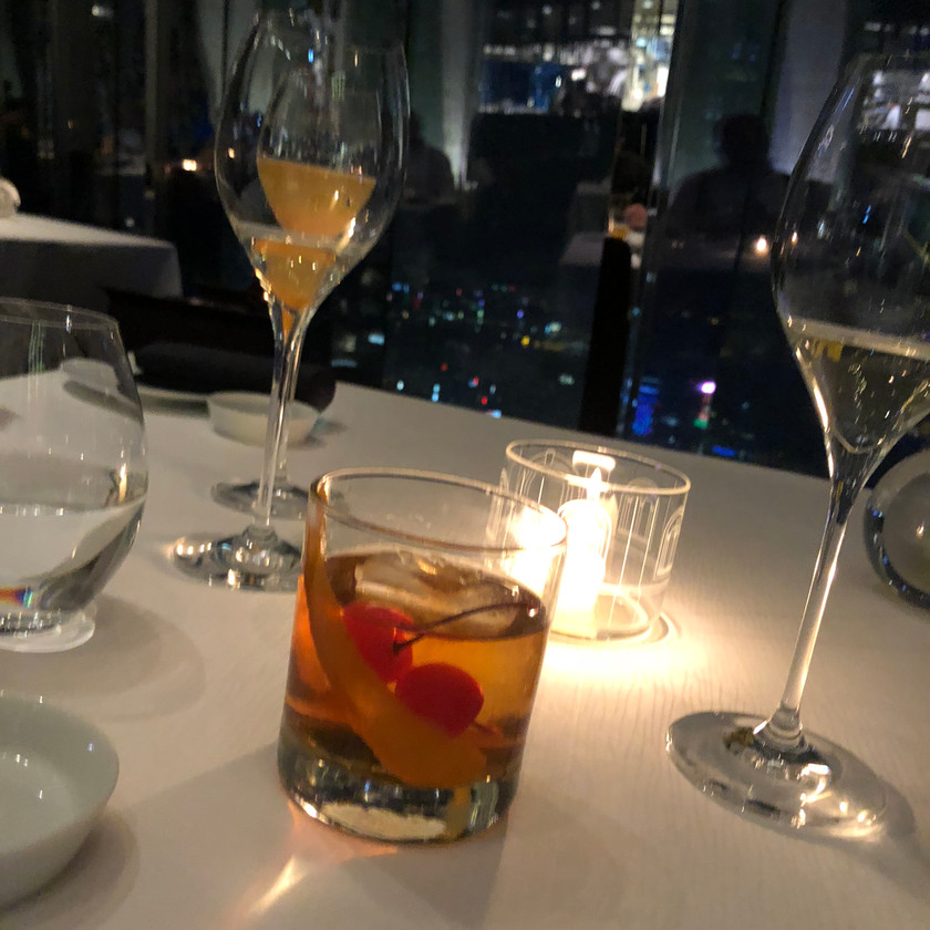 Tosca old fashioned Ritz-Carlton Hong Kong