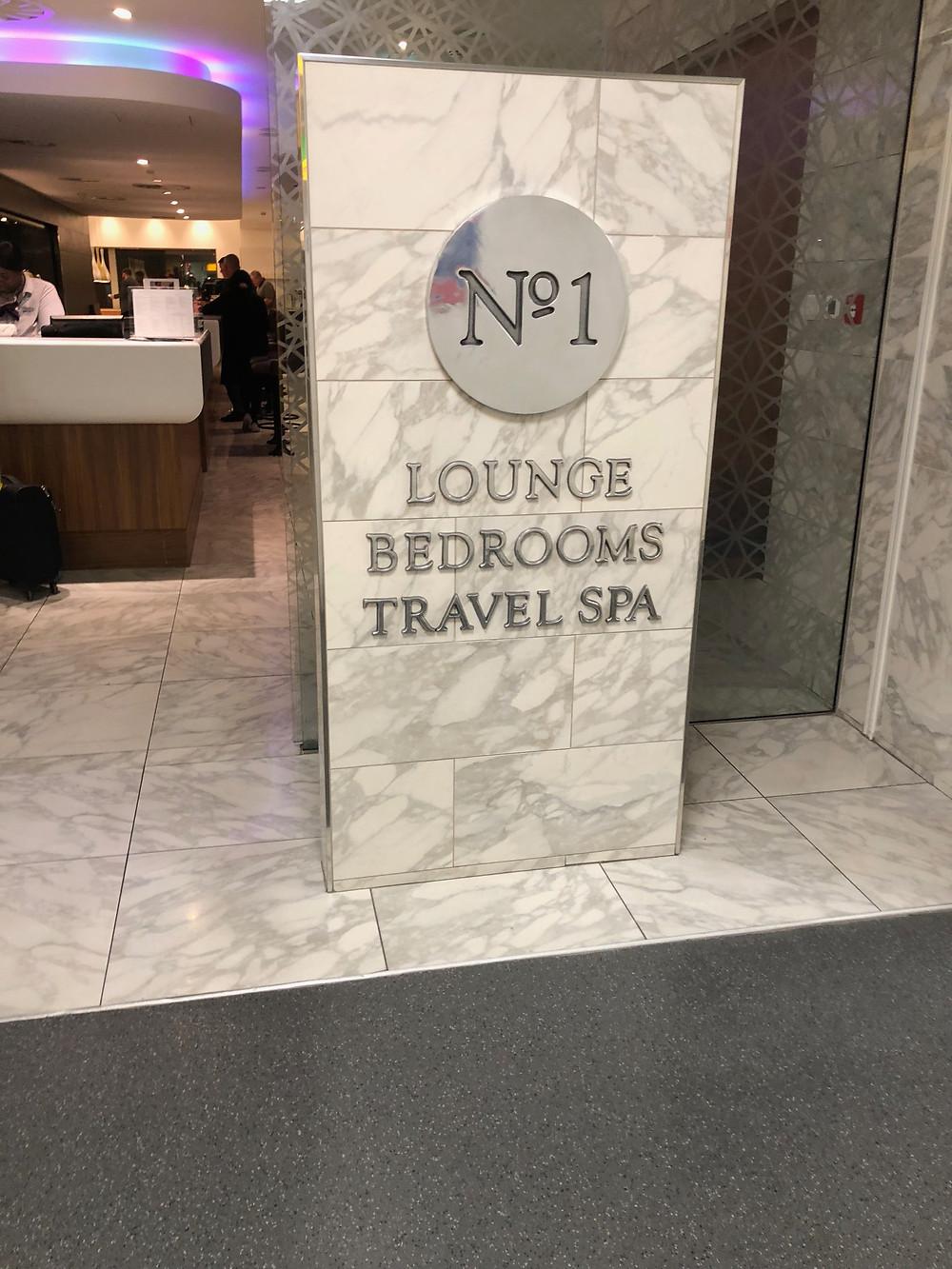 NO1 lounge Heathrow airport