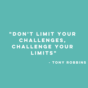 tony robbins quote, monday motivation, motivated