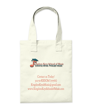 Music school tote bag for sale