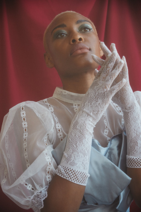 """""""A Portrait of a Young Lady"""" Flanelle Magazine"""