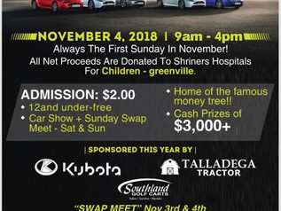 Clay County Car Show - 31st Year November 4, 2018