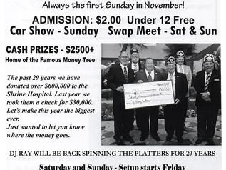 30th Annual Clay County Car Show  & Swap Meet - Sun. Nov. 5th
