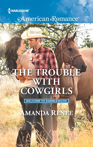Trouble with Cowgirls by Amanda Renee