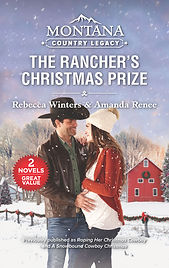 The Rancher's Christmas Prize by Amanda Renee