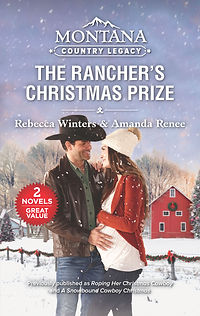 The Rancher's Christmas Prize by Amanda Renee & Rebecca Winters