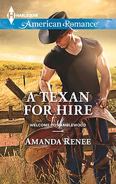A Texan for Hire by Amanda Renee