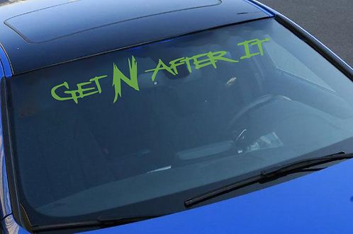 Front Window Decal