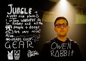Owen Rabbit thinks Jungle studios is a very nice place