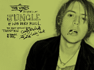 The Vines recorded at Jungle Studios with Lachlan Mitchell