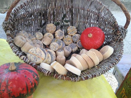- Mini SAVONS NATURELS aux agrumes et plantes -