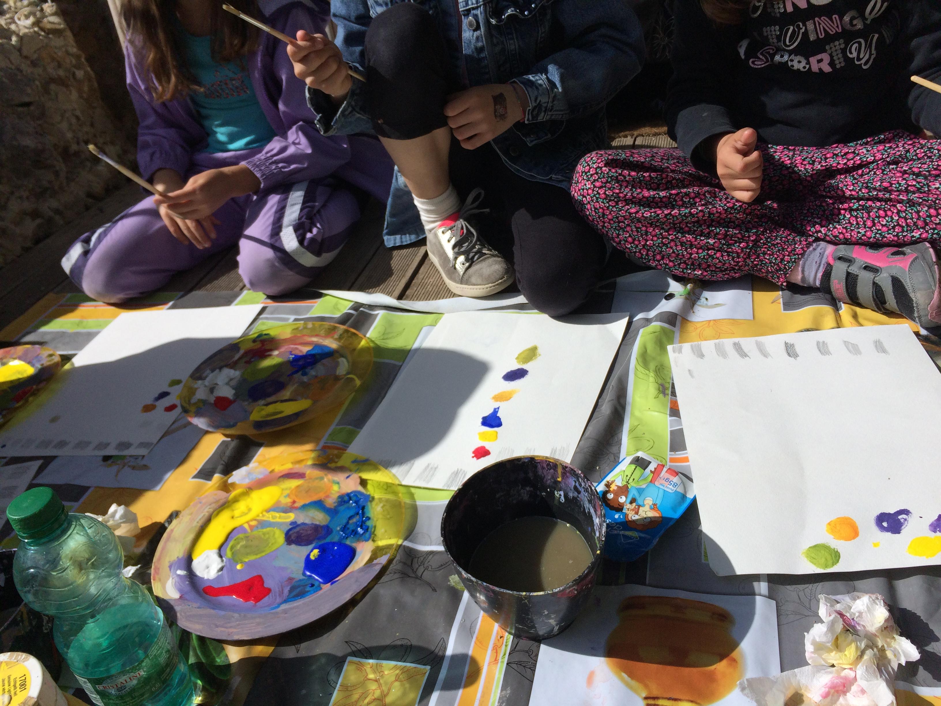 stage peinture et dessin pour enfant