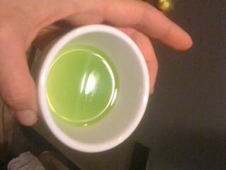 Nous avons obtenue de l'huile d'olive!