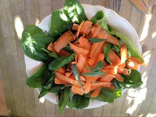 Pisselits, valérianne, épinards, carottes, soucis, lavande, menthe...