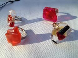 Creating jewellery at Gaia Luna