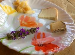 table d'hôtes, les fromages locaux