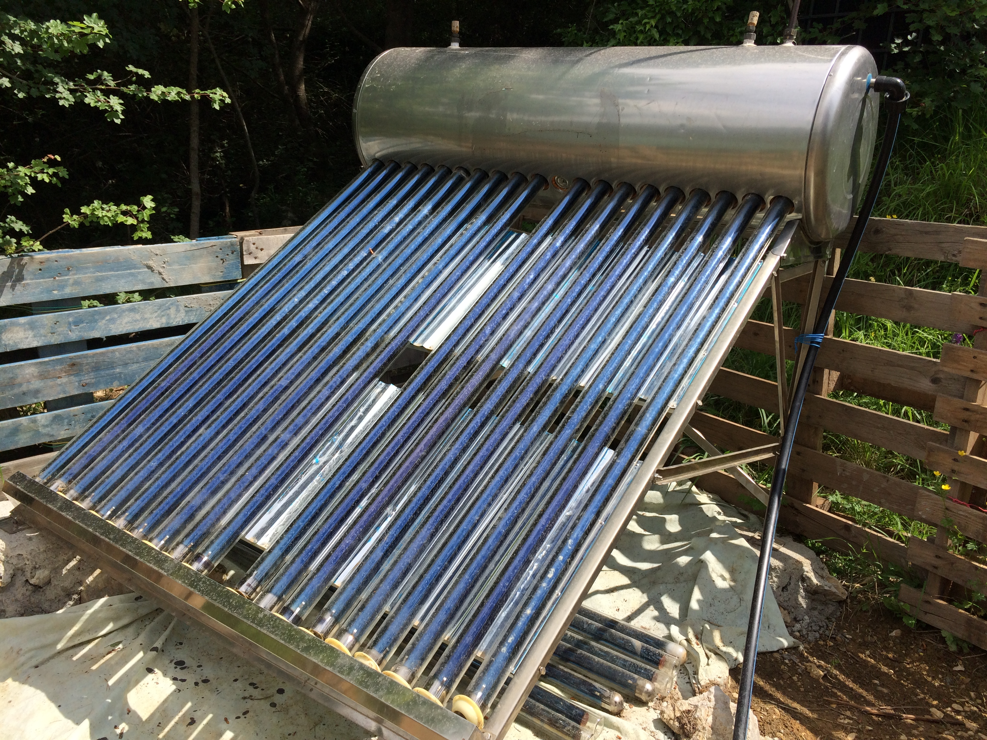 Le thermosiphon solaire