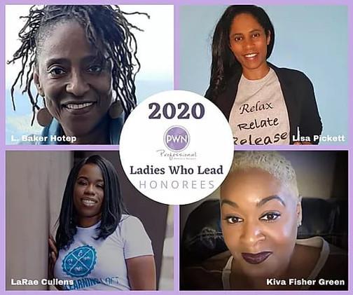 PWN Ladies Who Lead Honorees