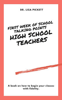 How to Start Your First Week of School-