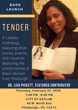 Tender Book Launch