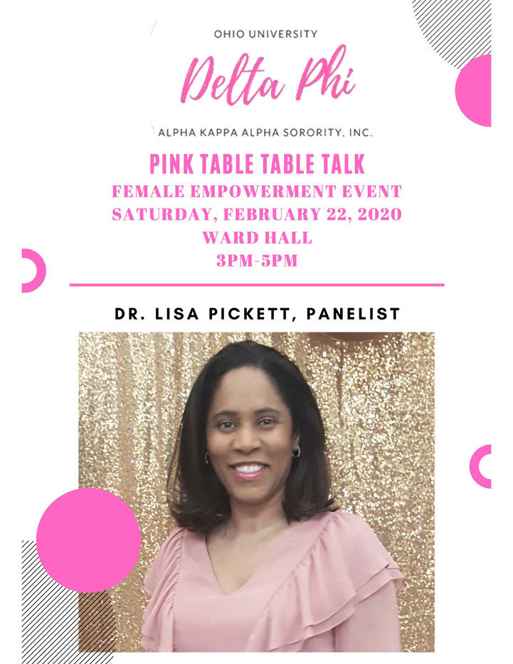 Ohio University Pink Table Talk