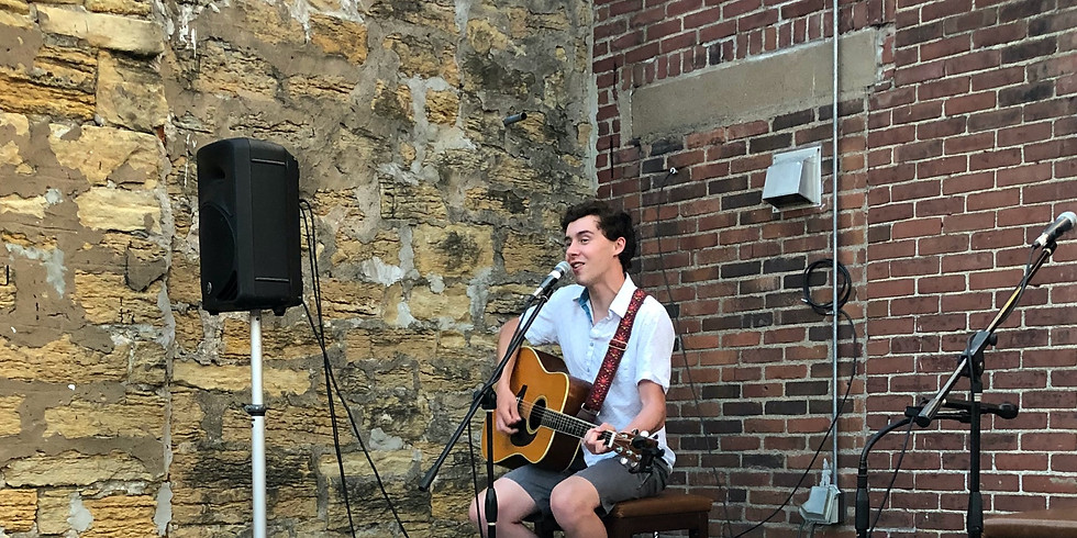 Ari Silver Acoustic on the Patio
