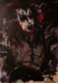Gene-Sex Blood & Rock N Roll series (size 40 x 60)
