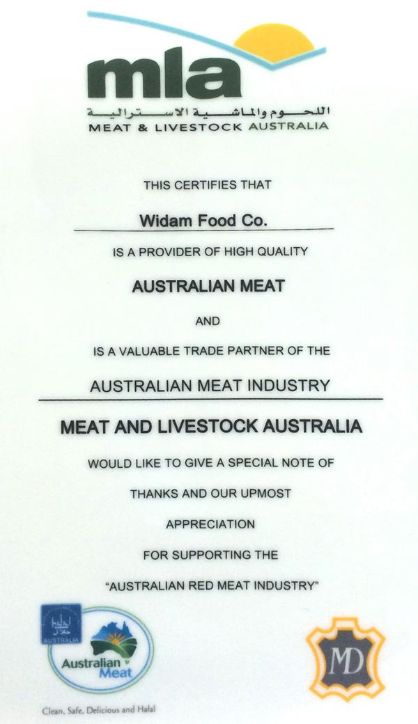 PROVIDER OF HIGH QUALITY AUSTRALIAN