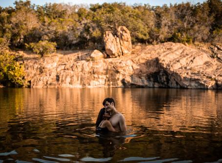 An Adventurous Engagement Session   Rachel & Matt   Texas Photographer