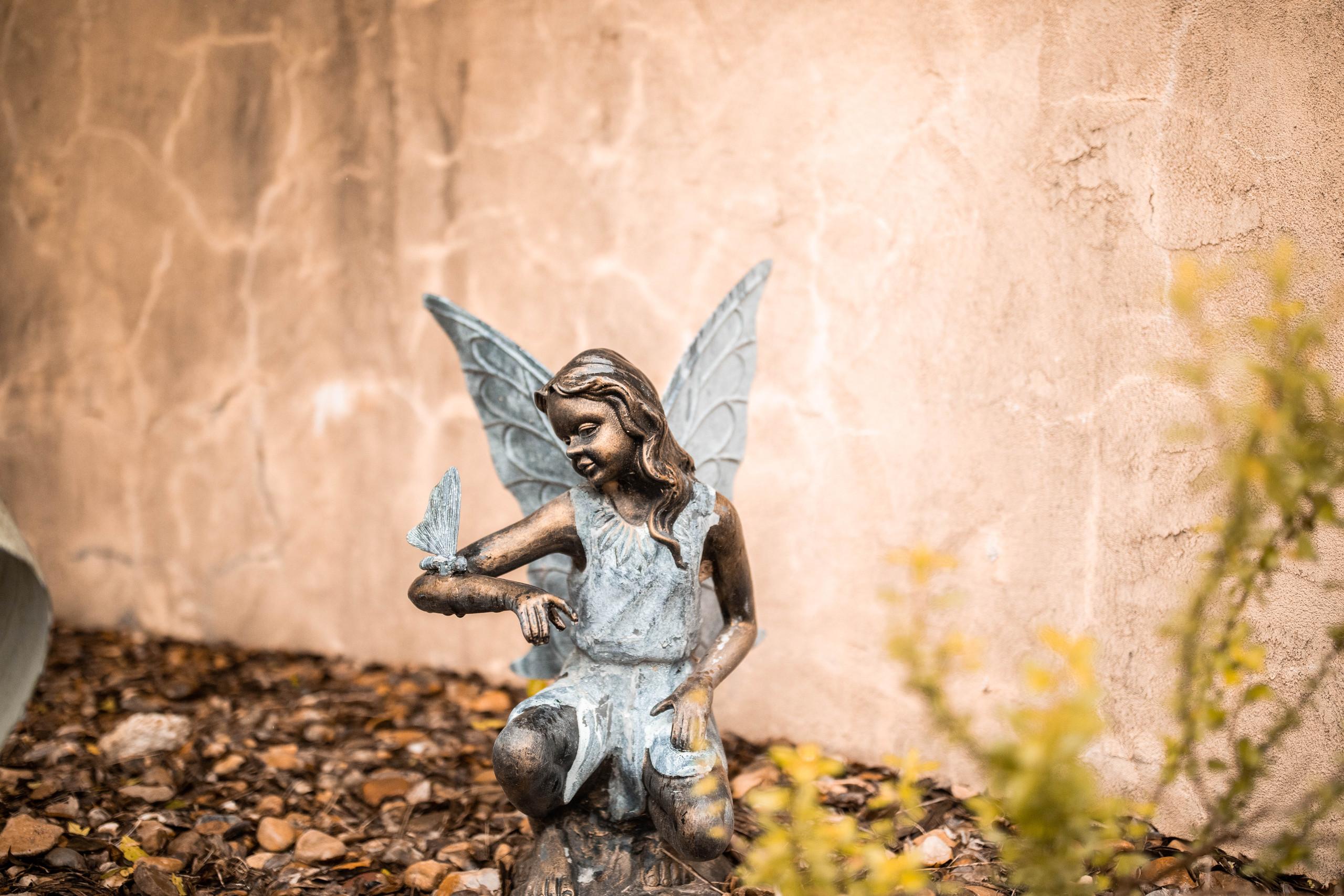 Garden Fairy Austin Wedding
