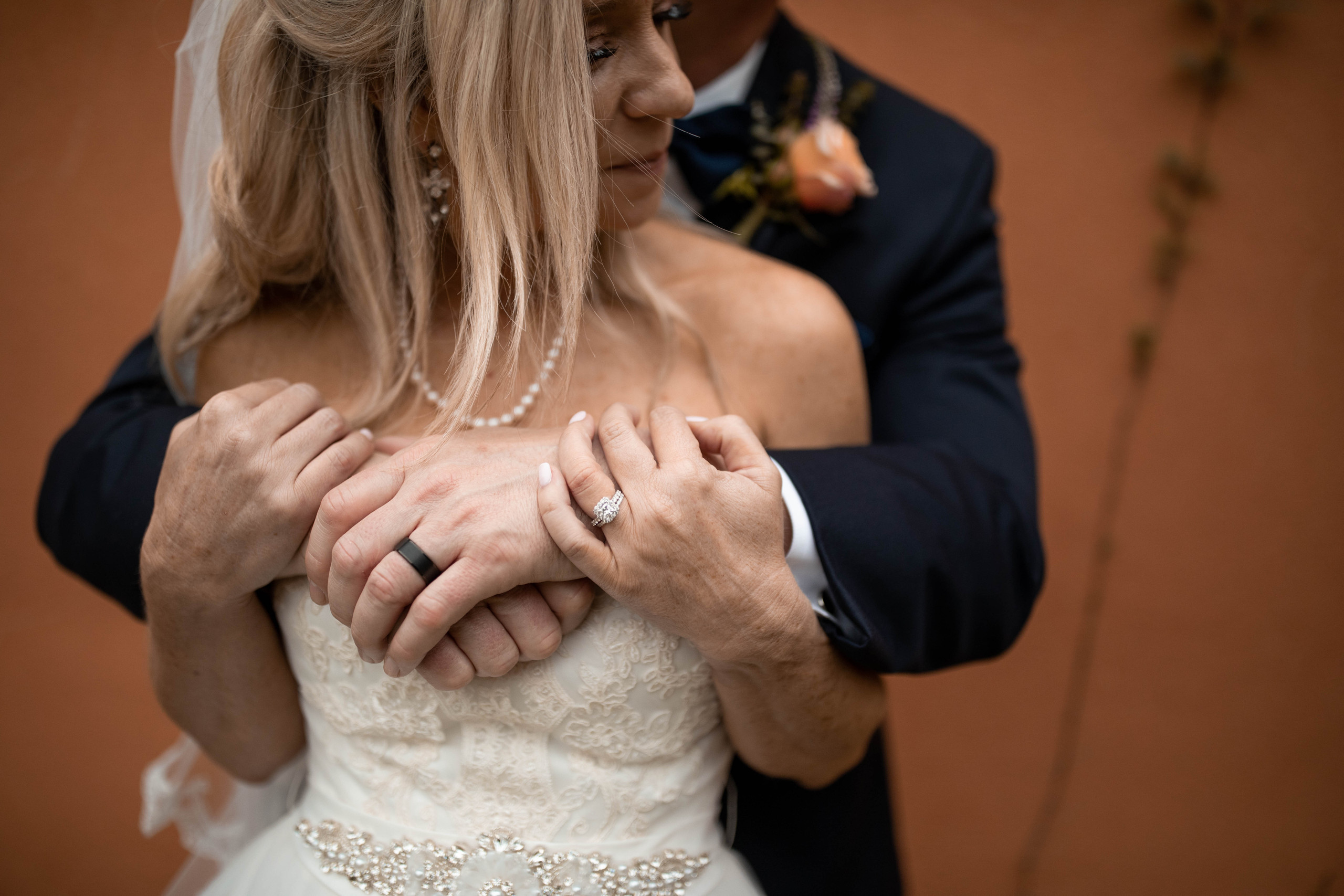 Bride and Grom Chapel Dulcinea Wedding