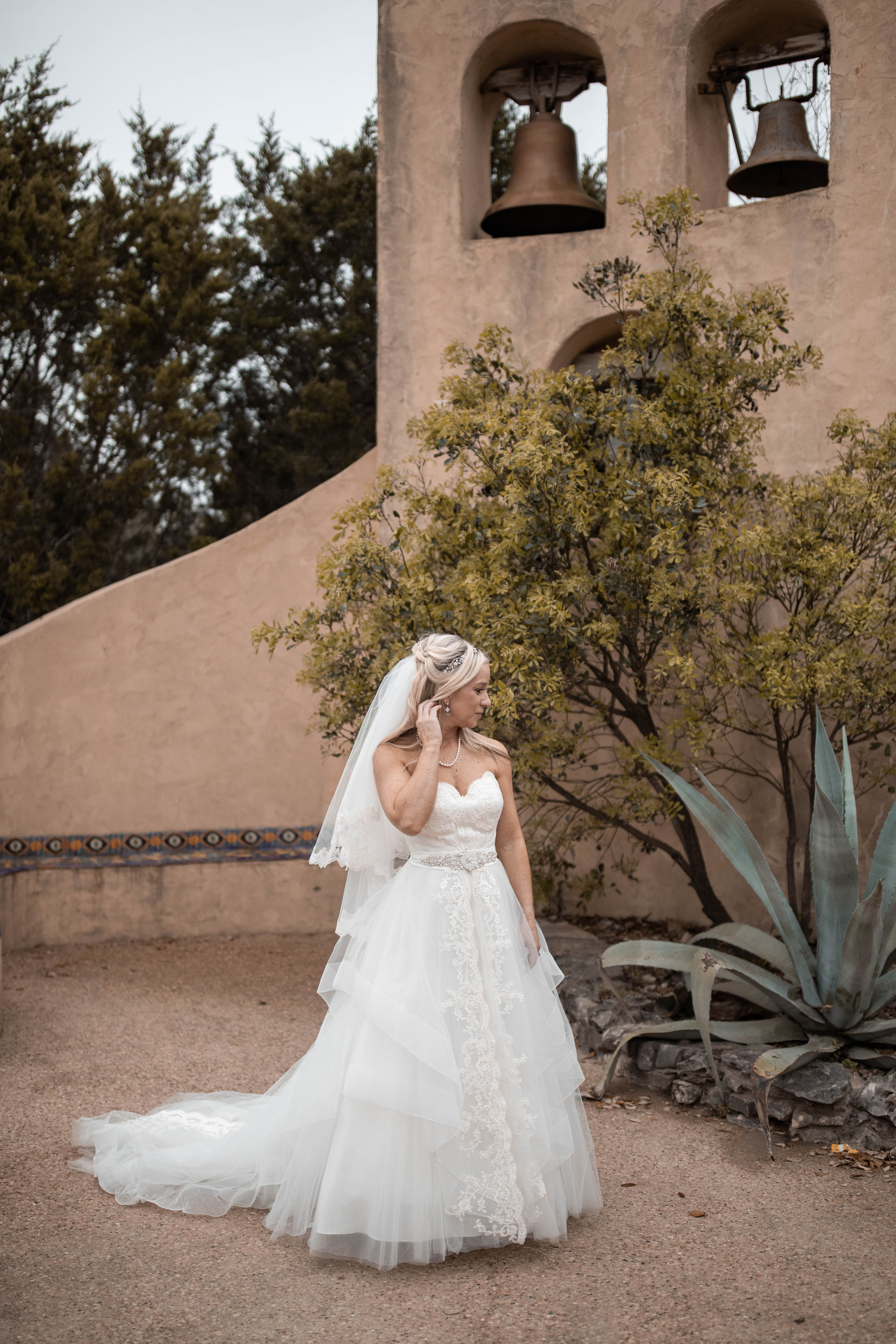 Austin Texas Bridal Portraits Chapel Dulcinea