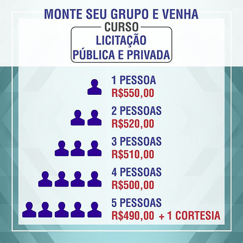 Curso Licitacao Publica e Privada Rio de Janeio RJ