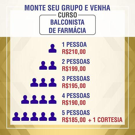 Curso Balconista de Farmacia Rio de Janeio RJ