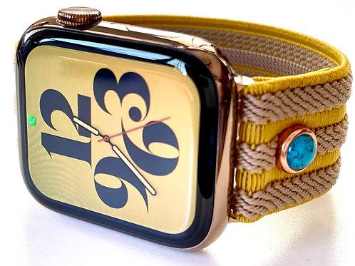 "Elastic Apple Watch Band ""Cleopatra"""