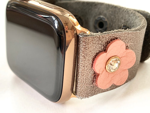 Apple Leather Watch Band 4 3 2 1  Fitbit Blaze/Versa Butter soft leather
