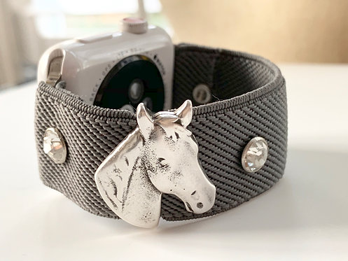 Elastic Apple Watch Band Series 4 3 2 1 / Fitbit Blaze Equestrian